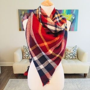 Accessories - 🔥SALE🔥Tartan Plaid Blanket Scarf